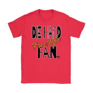 Die Hard Freestyle Fan Ladies T-shirt - Audio Swag