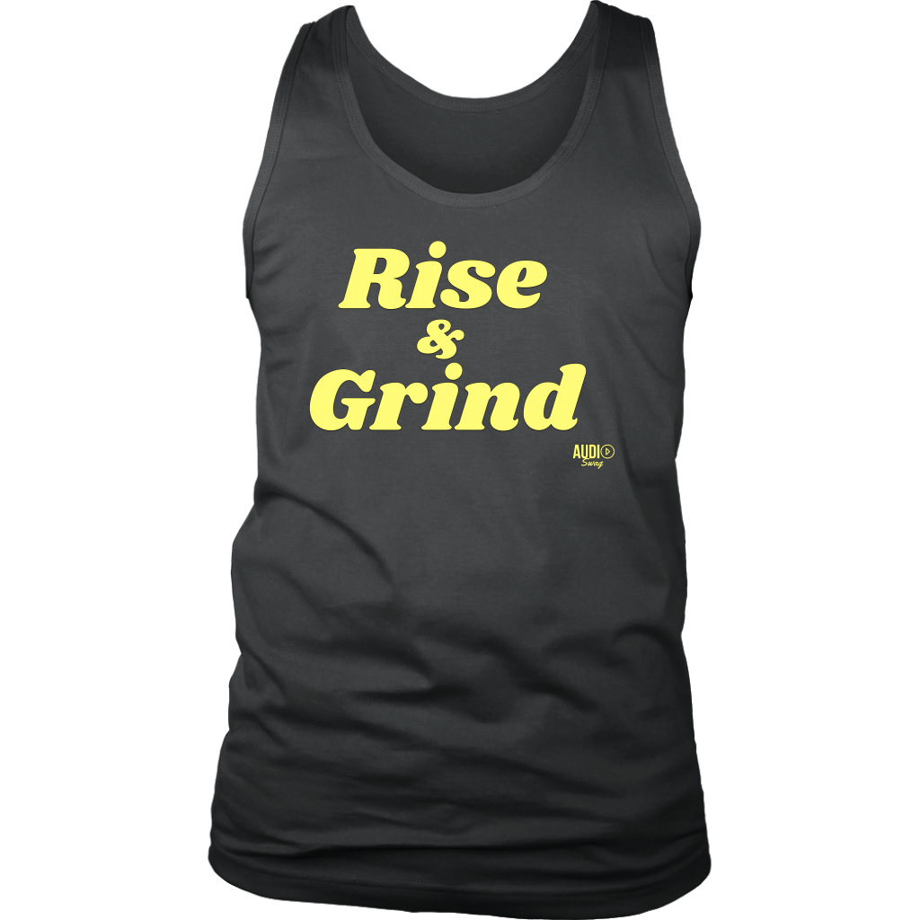 Rise and Grind Mens Tank Top