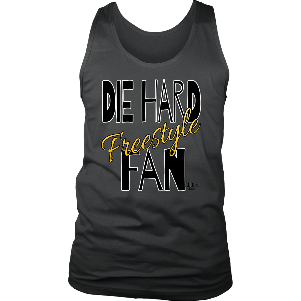 Die Hard Freestyle Fan Mens Tank Top - Audio Swag
