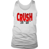 Crush It Motivational Mens Tank Top - Audio Swag