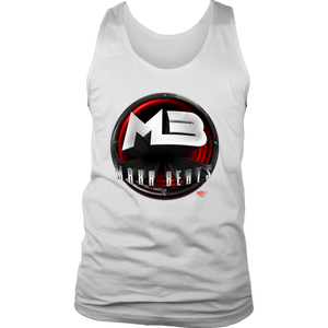 MAXXBEATS Red Logo Mens Tank - Audio Swag