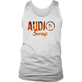 Audio Swag Fire Logo Mens Tank Top - Audio Swag