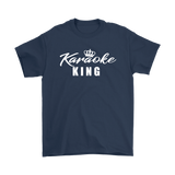 Karaoke King Mens T-shirt - Audio Swag
