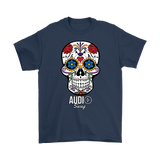 Sugar Skull Audio Swag Mens T-shirt - Audio Swag