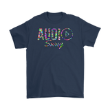 Audio Swag Geometric Logo Mens T-shirt - Audio Swag