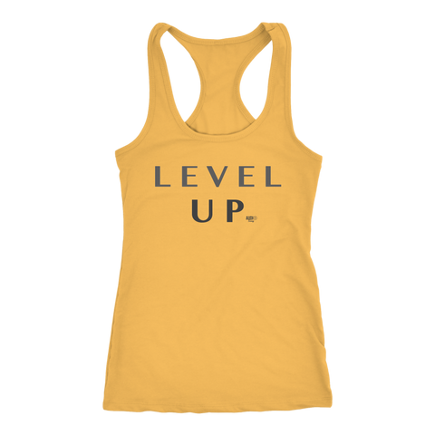 Level Up Ladies Racerback Tank Top