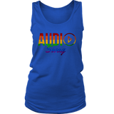 Audio Swag Pride Logo Ladies Tank Top - Audio Swag