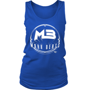 MAXXBEATS Vintage Logo Ladies Tank - Audio Swag