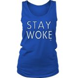 Stay Woke Ladies Tank Top - Audio Swag
