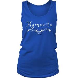 Mamacita Scroll Ladies Tank Top - Audio Swag