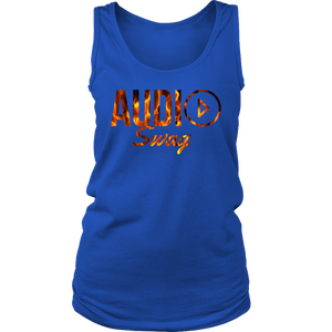 Audio Swag Fire Logo Ladies Tank Top - Audio Swag