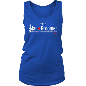 The Star Groomer Ladies Tank Top - Audio Swag