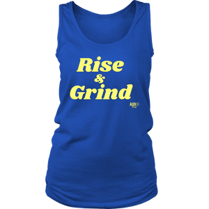 Rise and Grind Ladies Tank Top