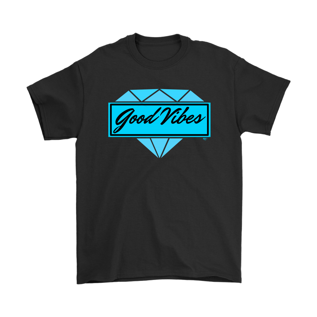 Good Vibes Diamond Mens T-shirt - Audio Swag