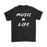 Music = Life Mens Tee - Audio Swag