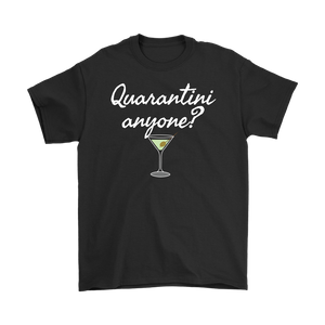 Quarantini Anyone? Mens T-shirt - Audio Swag