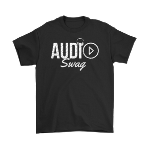 Audio Swag Music Logo Mens T-shirt - Audio Swag