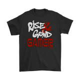 Rise & Grind Gamer Mens T-shirt
