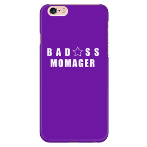 Bad@ss Momager iPhone Phone Case - Audio Swag