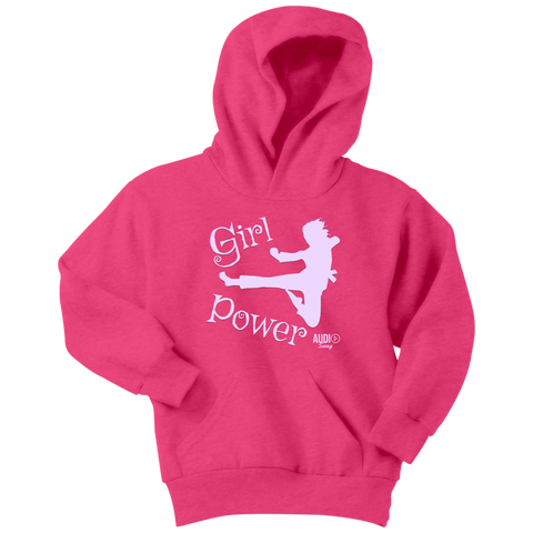Girl Power Karate Youth Hoodie