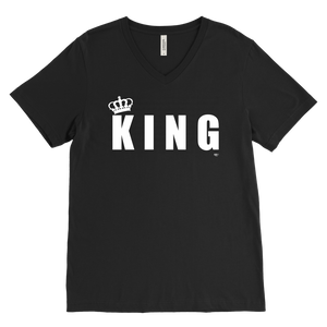 King Mens V-Neck Tee - Audio Swag