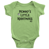 Mommy's Little Nightmare Baby Bodysuit