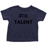 Real Talent Toddler T-shirt - Audio Swag