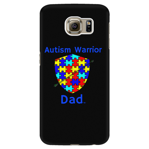 Autism Warrior Dad Galaxy Phone Case - Audio Swag