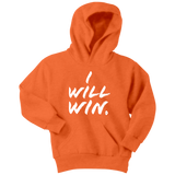 I Will Win Youth Hoodie - Audio Swag