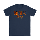 Audio Swag Fire Logo Ladies T-shirt - Audio Swag