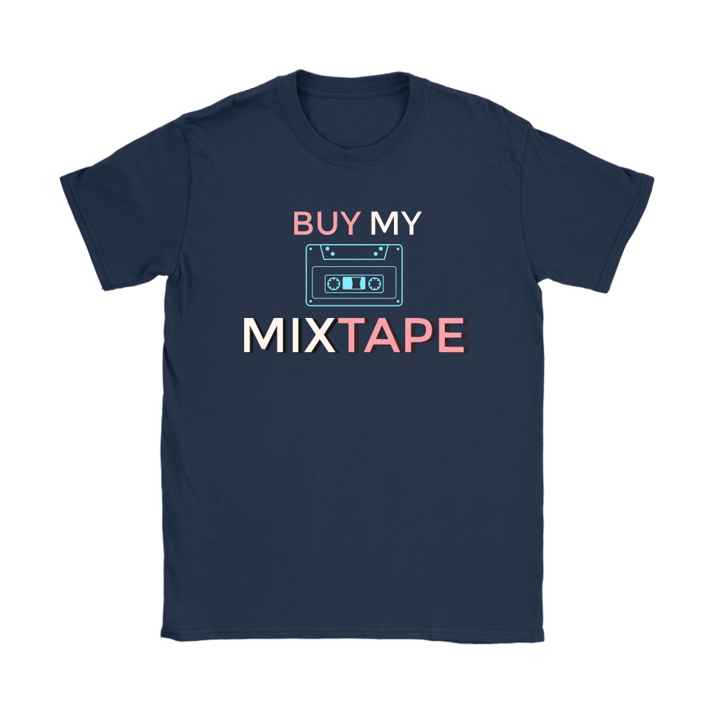 Buy My Mixtape Ladies T-shirt - Audio Swag