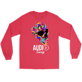 Bright Skull Raglan - Audio Swag