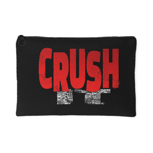 Crush It Motivational Large Accessory Pouch - Audio Swag