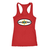 Good Vibes Ladies Racerback Tank Top - Audio Swag