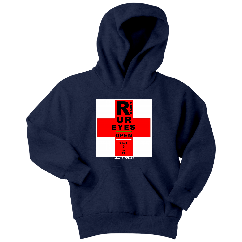 New Generation-Eyes Open Youth Hoodie