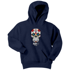 Sugar Skull Audio Swag Youth Hoodie - Audio Swag