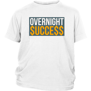 Overnight Success Youth T-shirt - Audio Swag