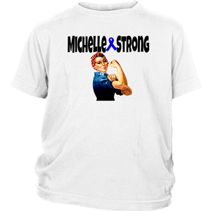 Michelle Strong Youth T-shirt - Audio Swag