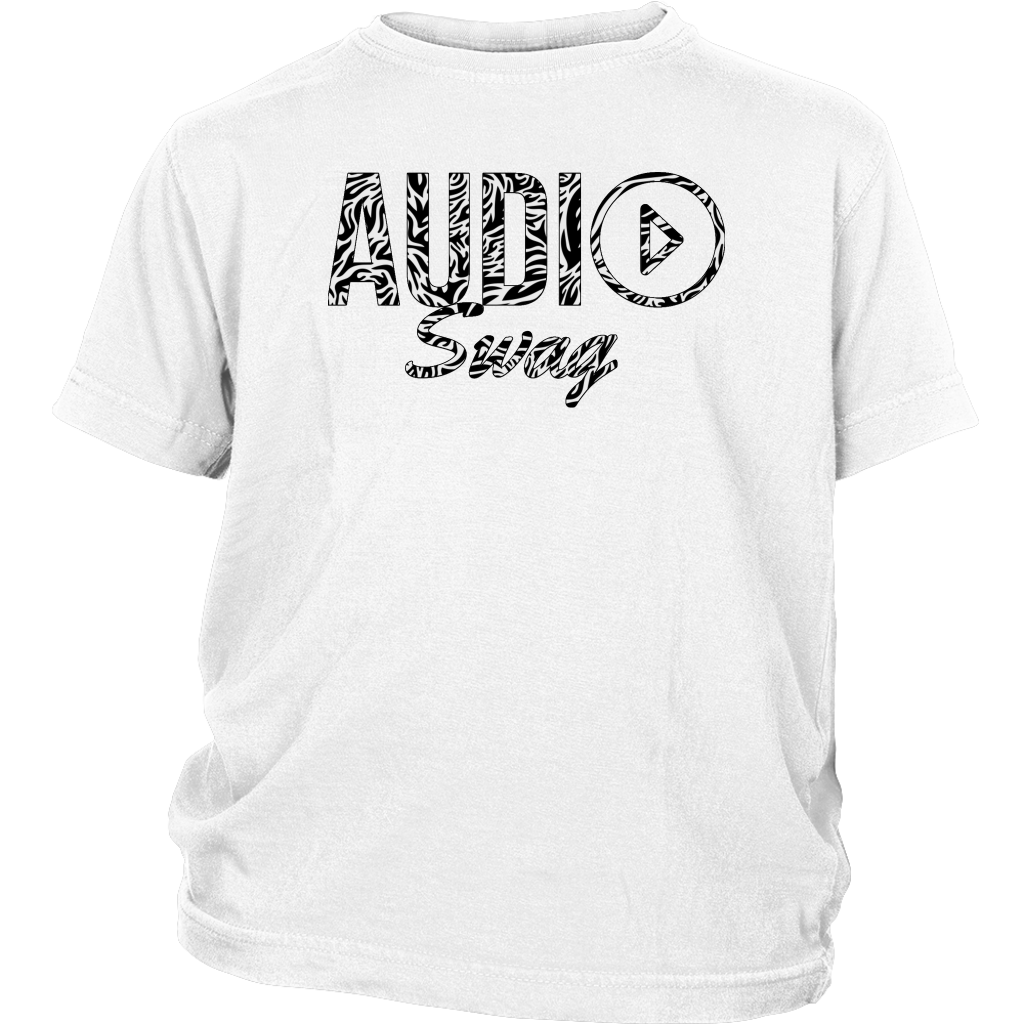 Audio Swag Zebra Logo Youth T-shirt - Audio Swag