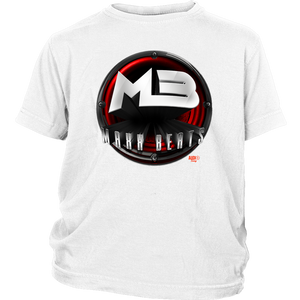 MAXXBEATS Red Logo Youth T-shirt - Audio Swag