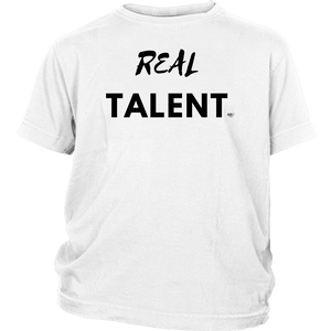 Real Talent Youth Tee - Audio Swag