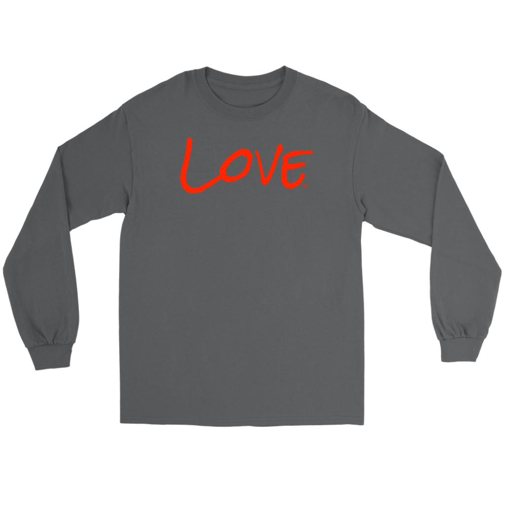 Love Long Sleeve T-shirt - Audio Swag