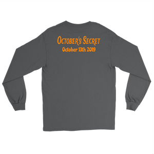 October's Secret Date Long Sleeve T-shirt - Audio Swag