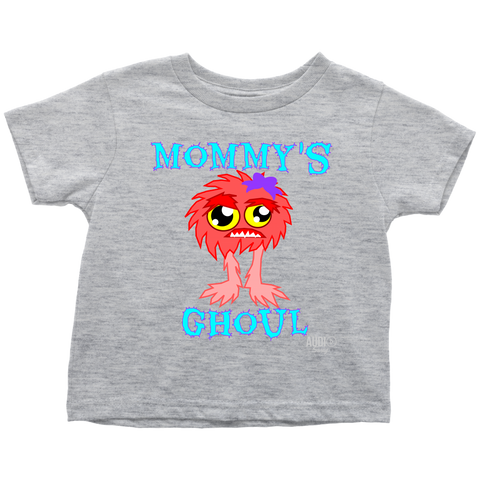 Mommy's Ghoul Toddler T-shirt