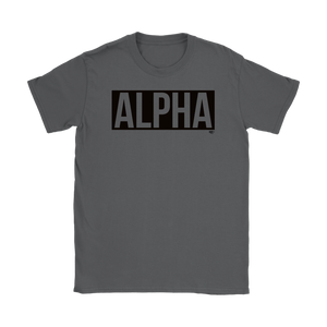 Alpha Ladies T-shirt - Audio Swag