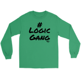 #Logic Gang Long Sleeve T-shirt - Audio Swag