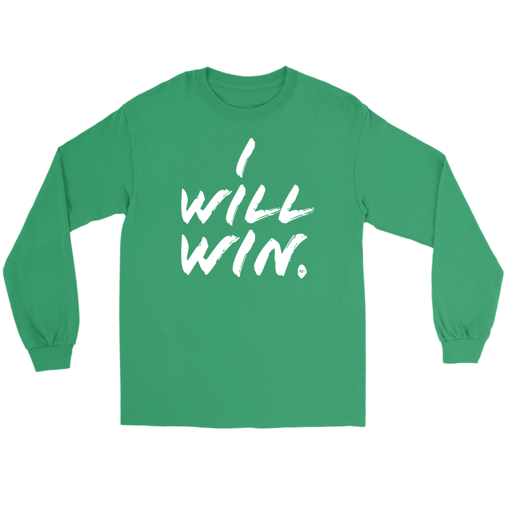 I Will Win Long Sleeve Tee - Audio Swag