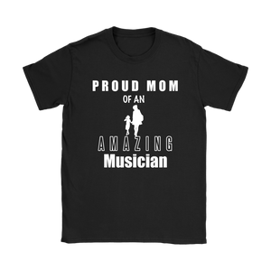 Proud Mom of an Amazing Musician Ladies Tee - Audio Swag