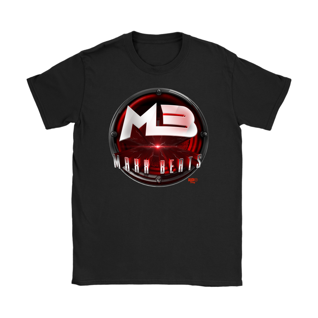MAXXBEATS Laser Logo Ladies T-shirt - Audio Swag