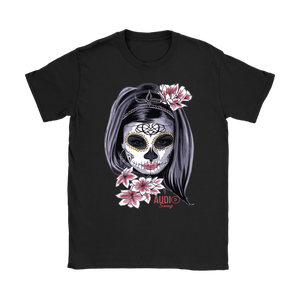Day Of The Dead Woman Ladies T-shirt
